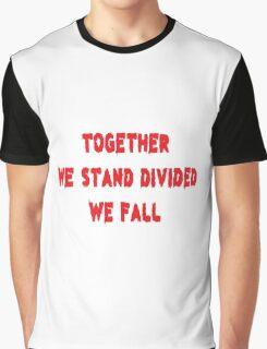 Inspirational Rock Song Lyrics Graphic T-Shirt