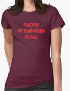 Inspirational Rock Song Lyrics Womens Fitted T-Shirt