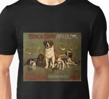 Artist Posters Bench show New England Kennel Club 0298 Unisex T-Shirt