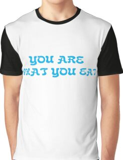 Funny Food Hungry Fat Text Graphic T-Shirt
