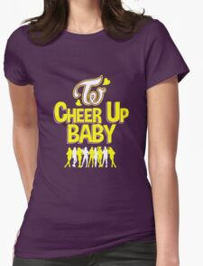 TWICE Cheer Up Baby! Womens Fitted T-Shirt