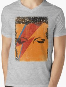 starman Mens V-Neck T-Shirt