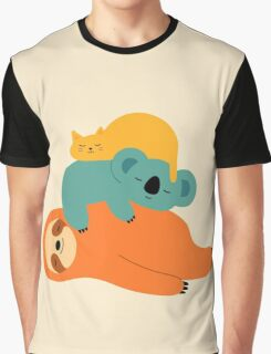 Being Lazy Graphic T-Shirt