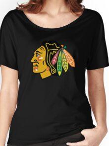 chicago blackhawks Women's Relaxed Fit T-Shirt