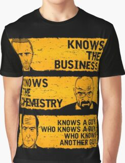 Walter, Jesse and Saul Graphic T-Shirt