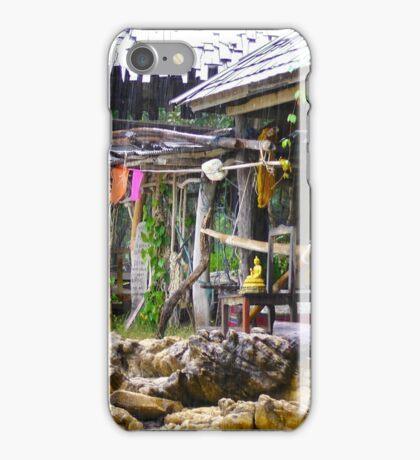 Beach shack iPhone Case/Skin