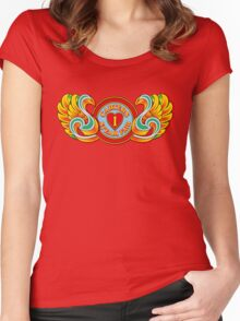 I Love Carters - winged Women's Fitted Scoop T-Shirt