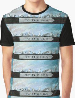Ten Gulls Graphic T-Shirt