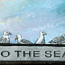 Ten Gulls by SlideRulesYou