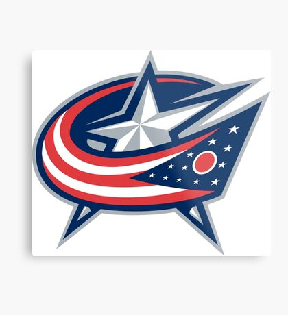 colombus blue jackets Metal Print