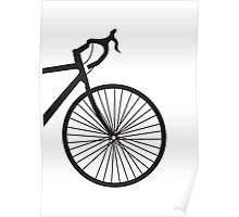 Bicycle print Poster