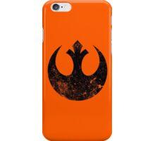 Distressed Rebel Alliance Logo iPhone Case/Skin