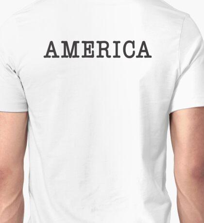 America, Typewriter, Font, Pure & Simple Unisex T-Shirt