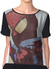 the amazing spider-man Chiffon Top
