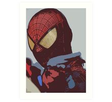 the amazing spider-man Art Print