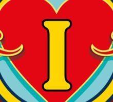 I Love Carters - circle Sticker