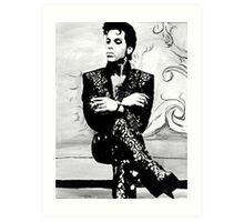His Royal Badness Art Print