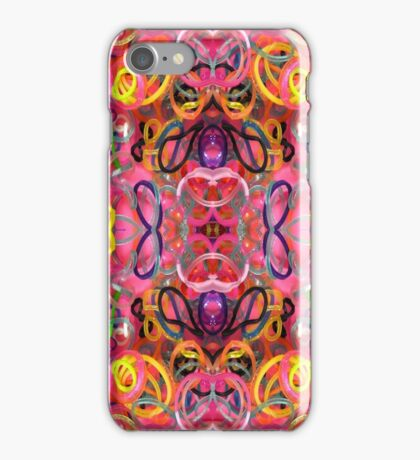 Real Rubbery Rubber Bands iPhone Case/Skin