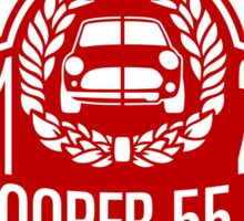 Mini Cooper 55 years anniversary Sticker