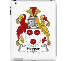 Hopper Coat of Arms / Hopper Family Crest iPad Case/Skin
