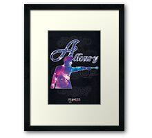 ALLONS-Y! Framed Print