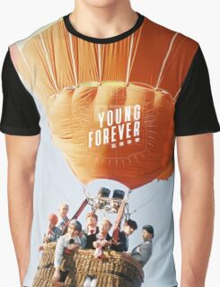 young forever BTS 5 Graphic T-Shirt