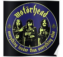 Original Motorhead Colour Poster
