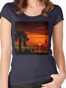 Take me to the sun Women's Fitted Scoop T-Shirt