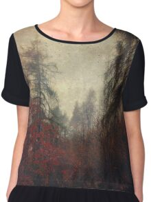 the day you went away Chiffon Top