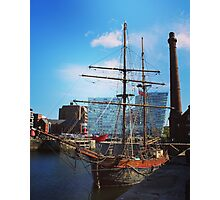 Tall sail ship Photographic Print