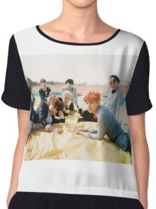 young forever BTS 6 Chiffon Top