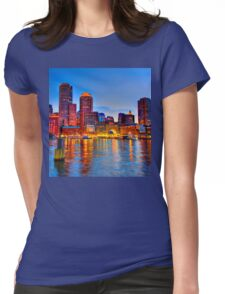 Boston Harbor Womens Fitted T-Shirt