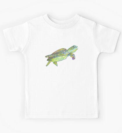 Sea turtle drawing - 2015 Kids Tee