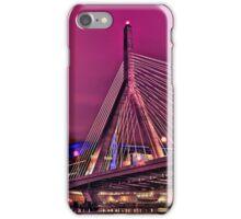 Zakim bridge, Boston MA iPhone Case/Skin
