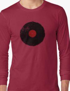 Grunge Vinyl Record Long Sleeve T-Shirt