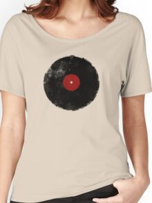 Grunge Vinyl Record Women's Relaxed Fit T-Shirt