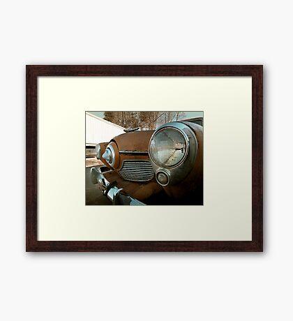 Abandoned Studebaker Commander Framed Print