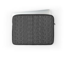 The Binary Code DOS version Laptop Sleeve