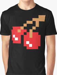 8-Bit Cherry Graphic T-Shirt