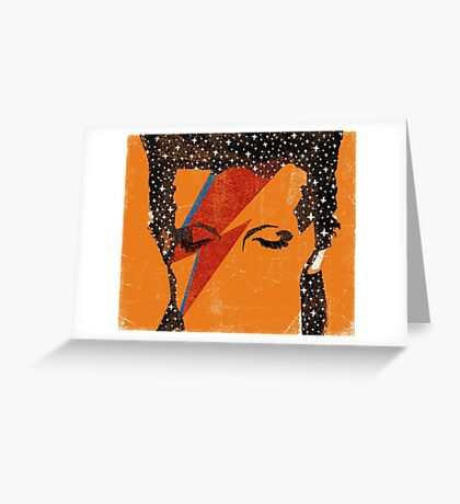 Starman Greeting Card