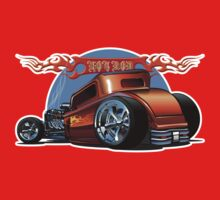 Cartoon Hot Rod One Piece - Long Sleeve
