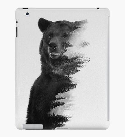 bear graphic nature photography iPad Case/Skin