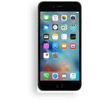 iphone 6 black front Canvas Print