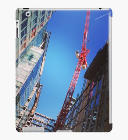 City construction site iPad Case/Skin