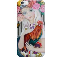 """Lady Spring"" iPhone Case/Skin"