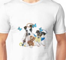 Jack Russell Terrier Puppy Love Unisex T-Shirt
