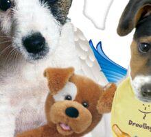 Jack Russell Terrier Puppy Love Sticker