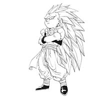 Gotenks Photographic Print