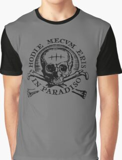 Uncharted 4 - Hodie Mecvm Eris In Paradiso Graphic T-Shirt