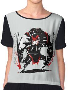 Dota 2 Bloodseeker Shirts Chiffon Top